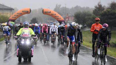 19. Giro-Etappe nach Fahrerprotest deutlich verkürzt