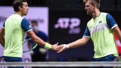 Tennis-Doppel Mies und Krawietz steht im Finale von Köln