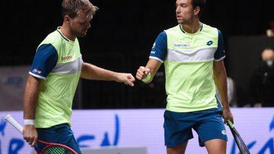Tennis-Doppel Mies und Krawietz verliert im Endspiel