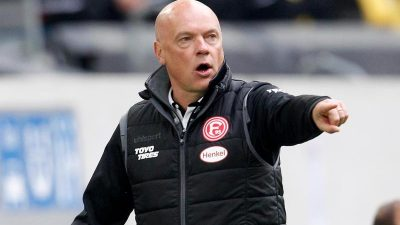 Fortuna-Vorstand Allofs:Keine Trainerdiskussion um Rösler