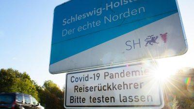 Schleswig-Holstein kündigt harte Kontaktbeschränkungen an: 10 Personen dürfen zusammenkommen
