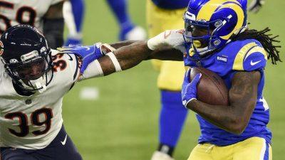 Los Angeles Rams besiegen Chicago Bears in NFL-Montagsspiel