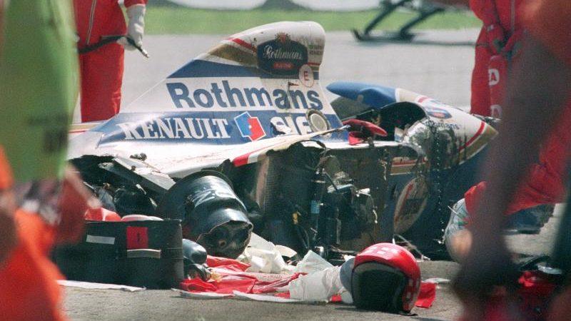Dunkle Erinnerungen: Formel 1 zum Kurzbesuch in Imola