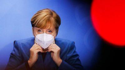 """Merkel: """"Wir lassen Betriebe in der Corona-Krise nicht allein"""""""