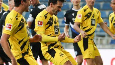Hummels führt BVB zum Sieg: Zwei Tore gegen Bielefeld