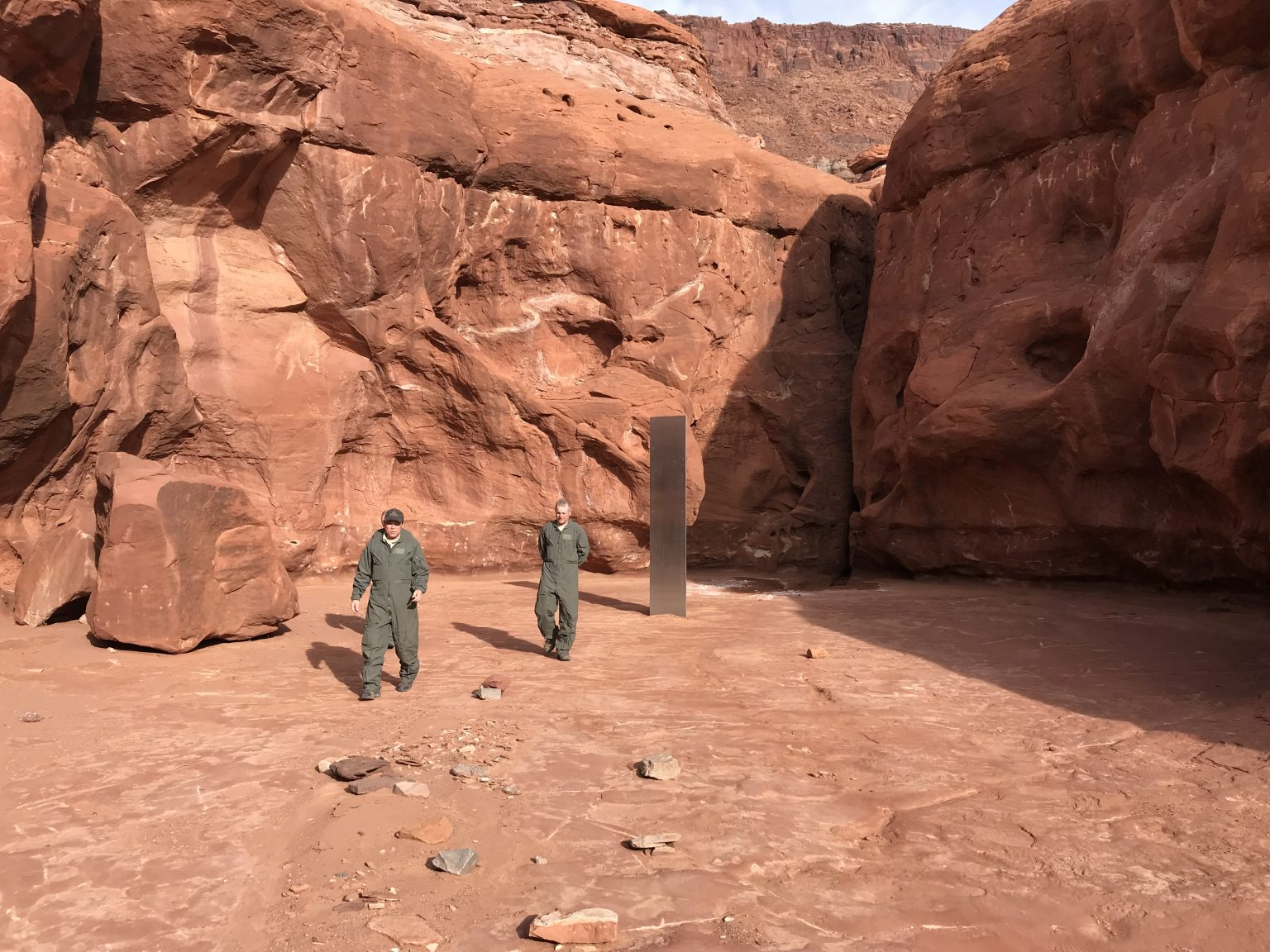 Mysteriöse Metallsäule im US-Bundesstaat Utah befeuert Fantasie