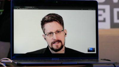 Edward Snowden bewirbt sich um russischen Pass