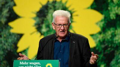 """Grünen-Politiker Kretschmann: """"Wir wollen dieses Land führen"""""""