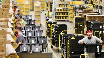 Koalition kleinerer US-Firmen vereint sich im Kampf gegen Monopol von Amazon