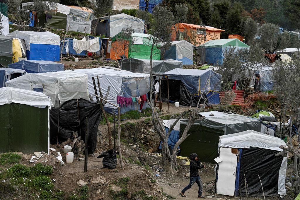Erneut brennt es im griechischen Aufnahmelager auf der Insel Samos