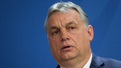 """Orbán: """"Europa darf sich Soros-Netzwerk nicht unterwerfen"""""""