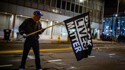 Trotz guter Wahlresultate für Biden: Linksextreme Krawalle suchen Städte in den USA heim