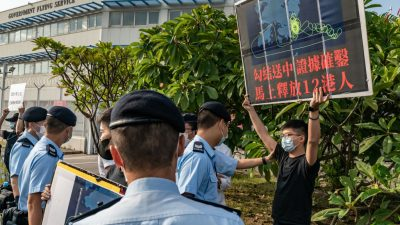 US-Unterstützer: Fünf Demokratieaktivisten aus Hongkong beantragen Asyl in den USA