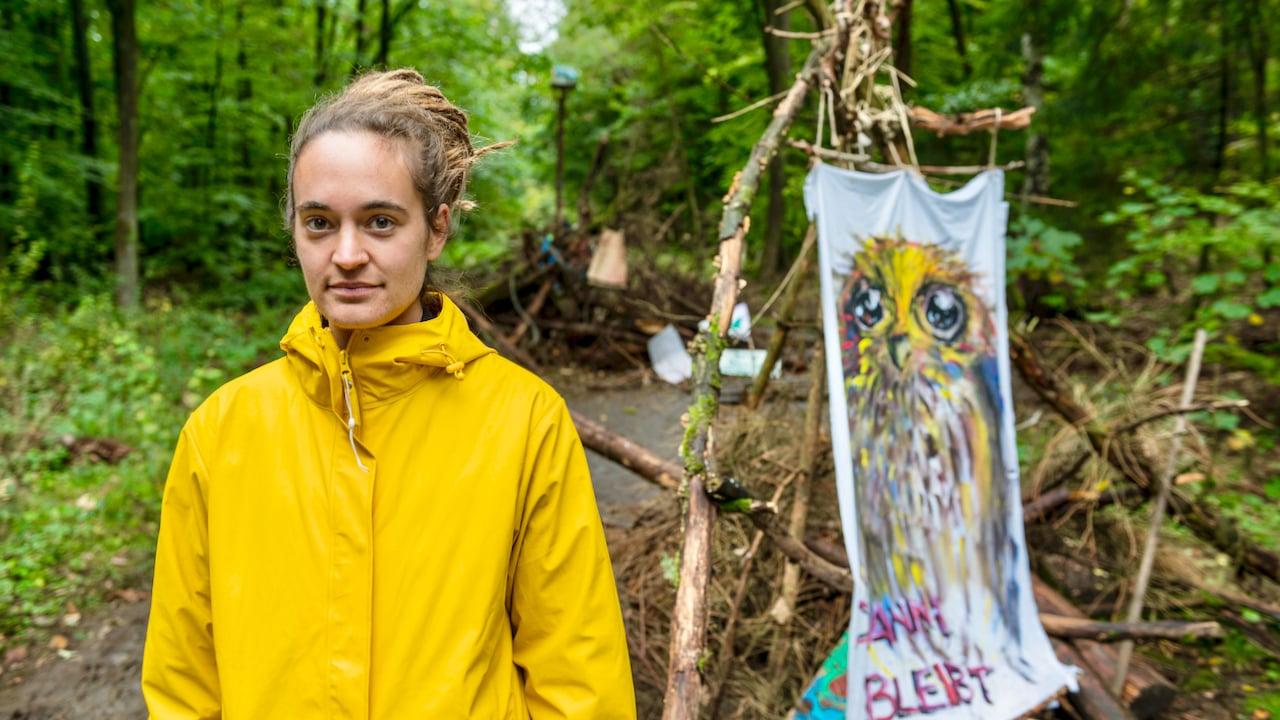 Ex-Seenotretterin Rackete in Dannenröder Forst in Gewahrsam genommen