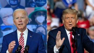 """Thanksgiving: Trump ermutigte sich zu versammeln und Gott zu danken – Biden warnte vor """"langem, harten Winter"""""""