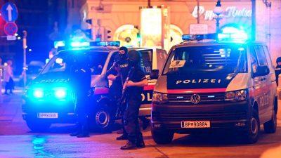 Terroranschlag in Wien: Mindestens zwei Täter – mehrere Tote – Schüsse an sechs Standorten