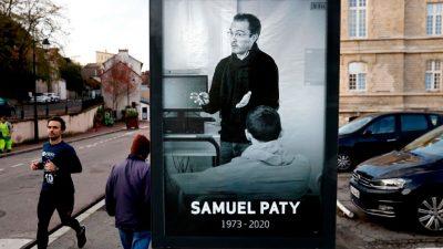 Frankreich: Erneut Morddrohungen gegen Lehrer