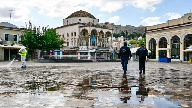 Griechenland Ausgangssperre