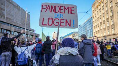Mitorganisator wegen Corona beatmet? Querdenken Leipzig weist Gerüchte zurück