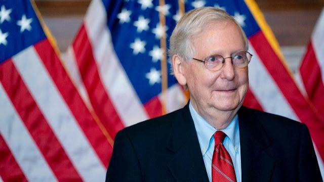"""Mehrheitsführer McConnell im US-Senat: Trump hat zu """"100 Prozent"""" Recht auf juristisches Vorgehen nach Wahl"""