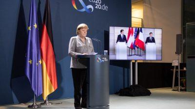 Merkel und EU-Partner wollen Außengrenzen gegen Terroristen abschotten