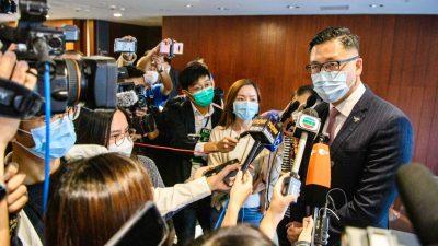 USA und Großbritannien werfen Peking wegen Hongkong-Politik Vertragsbruch vor