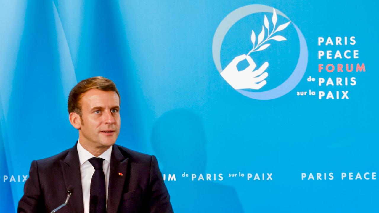 Macron kritisiert Kramp-Karrenbauer für Absage an strategischer Autonomie Europas