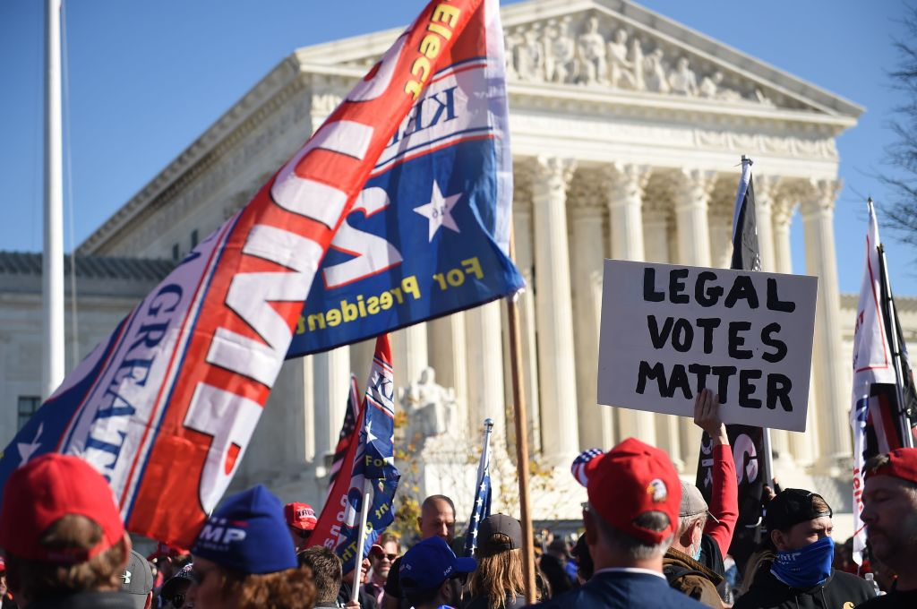 Supreme Court: In vier der sechs heiklen US-Bundesstaaten sind konservative Richter zuständig