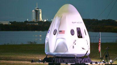 SpaceX-Rakete mit vier Astronauten zur ISS gestartet