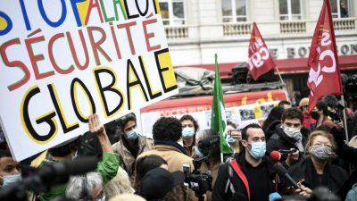 Frankreich: Ein Foto von einem Polizisten gepostet? Das kann bis 45.000 Euro kosten