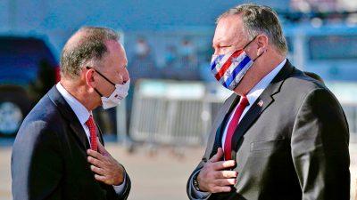 """US-Außenminister nennt Israel-Boykott-Kampagne """"antisemitisch"""""""
