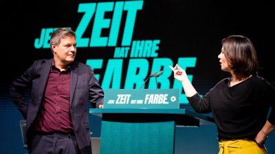 Grünen Parteitag: Baerbock betont Klimaschutz bei Koalitionen