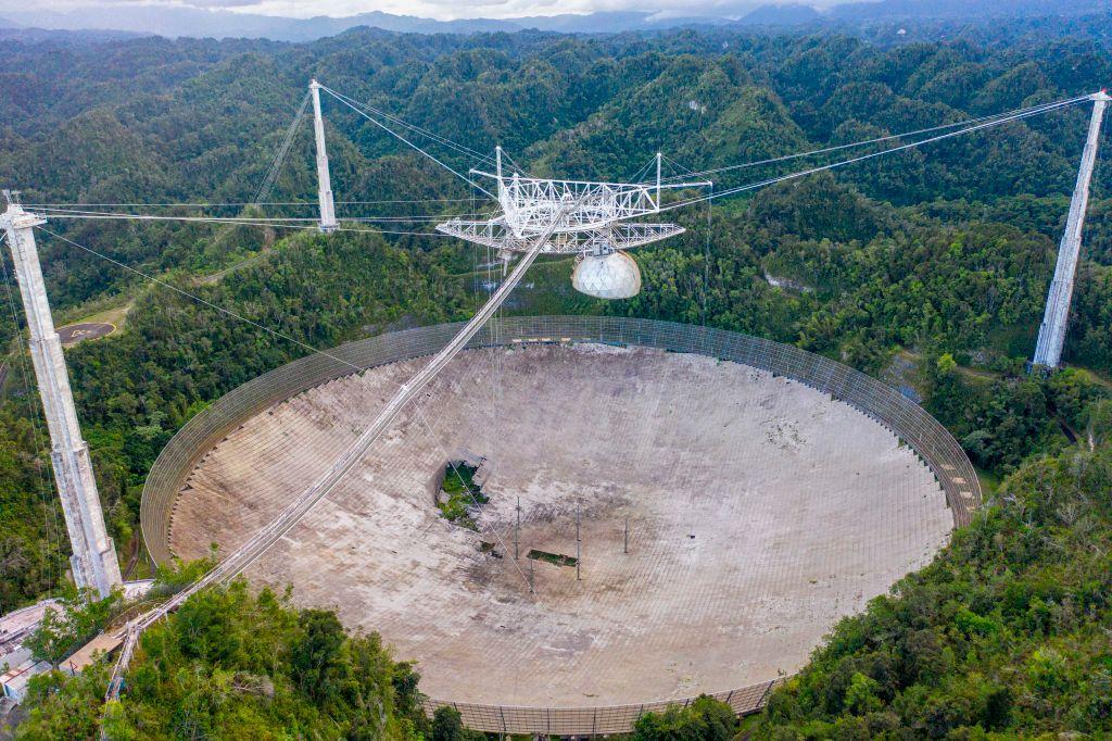 Reparatur unmöglich: Arecibo-Radioteleskop nach 57 Jahren außer Dienst gestellt