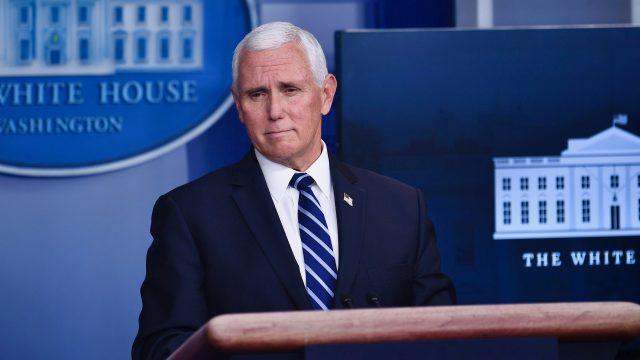 US-Vizepräsident Pence: Kein nationaler Lockdown nötig