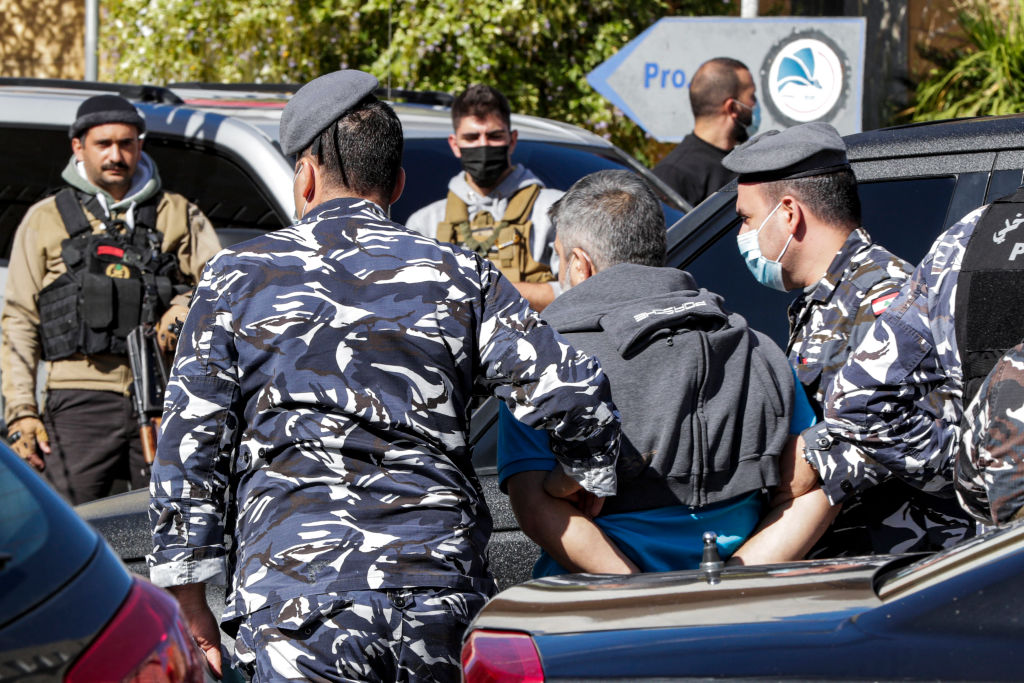 Dutzende Häftlinge nach Gefängnisausbruch im Libanon auf der Flucht