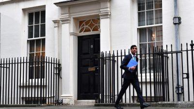 2020: Größter Wirtschaftseinbruch in Großbritannien seit über drei Jahrhunderten