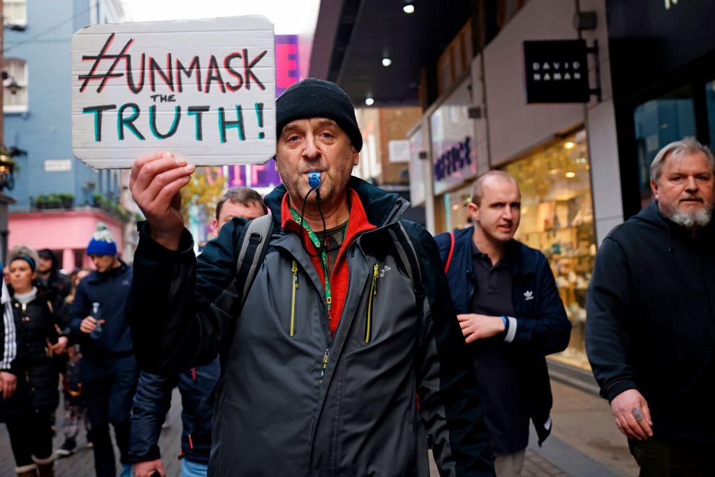 Mehr als 60 Festnahmen bei Protesten gegen Corona-Maßnahmen in London