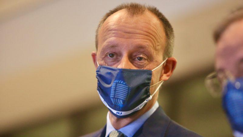 CDU-Politiker Merz und Kretschmer nach Kontakt zu Sachsens Minister Schmidt in Quarantäne