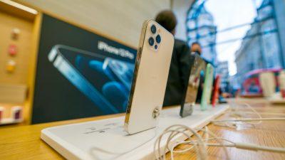 Apple muss in Italien Millionenstrafe wegen irreführender iPhone-Werbung zahlen