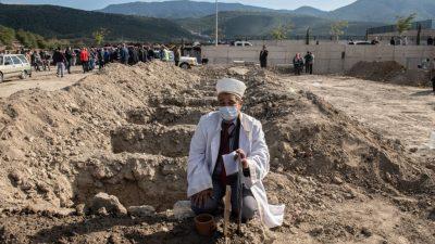 Zahl der Erdbeben-Toten in der Türkei steigt auf mehr als 56