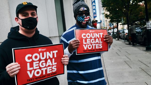 Trump gewinnt vor Gericht in Pennsylvania – Teil der Stimmzettel dürfen nicht gezählt werden