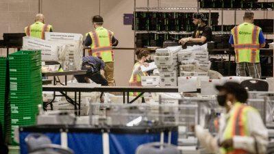 Pennsylvania: Unstimmigkeiten mit Poststempeln – Längst Verstorbene haben auch gewählt