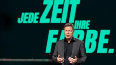Habeck bekräftigt auf Parteitag Machtanspruch der Grünen