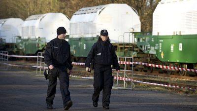 Castor-Transportschiff in Deutschland eingetroffen – Atom-Gegner führen erste Protestaktionen durch