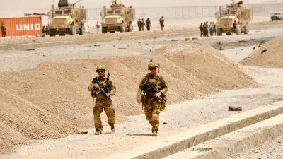 USA setzen zusätzliche Soldaten für Afghanistan-Abzug ein – 50.000 Taliban-Kämpfer vor Ort