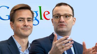 """""""Angriff auf die Pressefreiheit"""": Kooperation von Google und Spahn-Ministerium"""