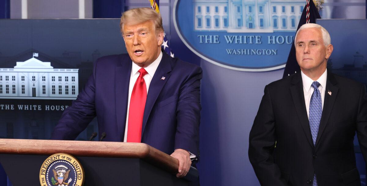 """Trump vermisst FBI und Justizministerium im Einsatz gegen """"Wahlbetrug"""""""