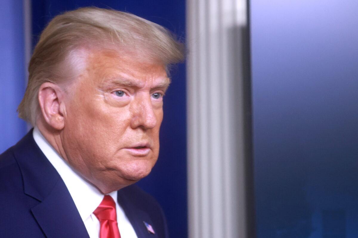 Trump: Mutiger Richter oder mutige Legislative nötig, um Wahlergebnis zu kippen