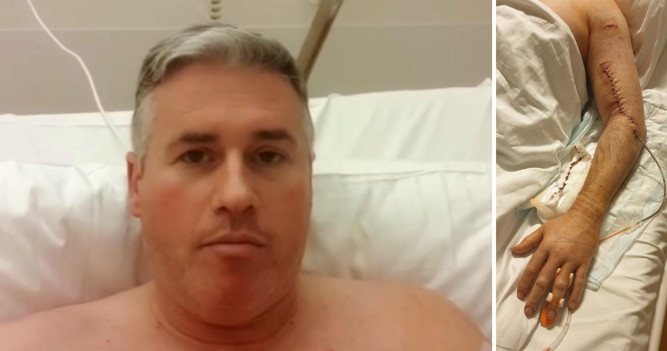 Not-OP: Lokalpolitiker von WG-Bewohner schwer verletzt – Täter wieder frei
