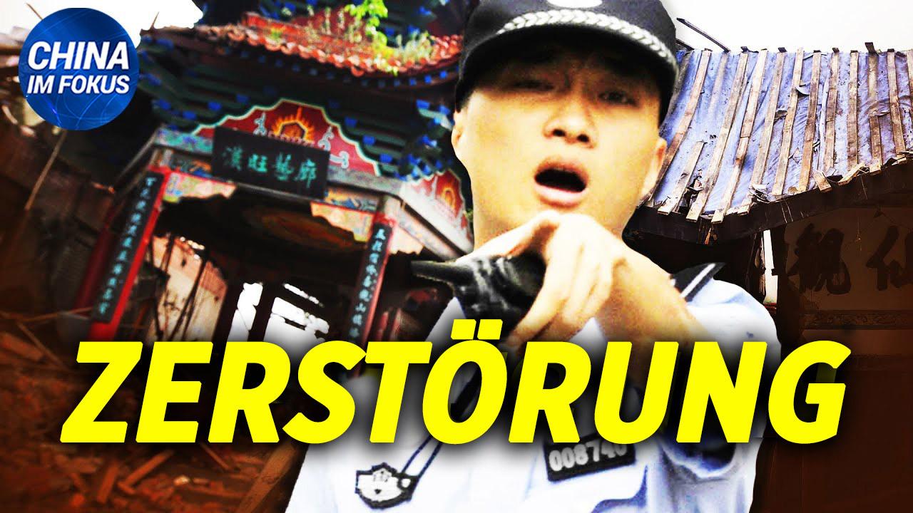 NTD: Chinesische Tempel gewaltsam von KPC zerstört | Wuhan: Virus-Epizentrum zur Propaganda genutzt